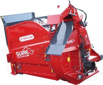 Image de Pailleuse distributrice STARFLOW grande capacité 4m3