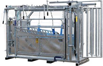 Image de Cage de contention avec porte de contention