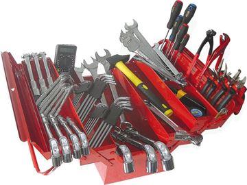 Image de Composition caisse à outils - 89 pièces
